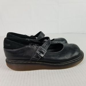Dr Martens US Sz 9 Black Leather Mary Janes